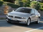 New Volkswagen Passat in action
