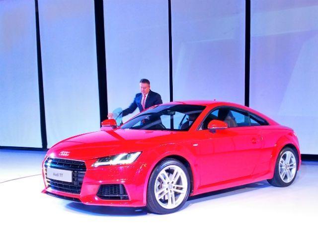 2015 Audi TT launch