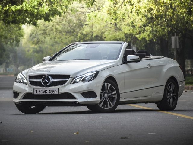 Mercedes-Benz E-Class Cabriolet front static