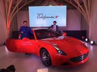 Ferrari California T launch gallery