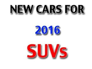 SUVs launching in 2016: Photo Gallery