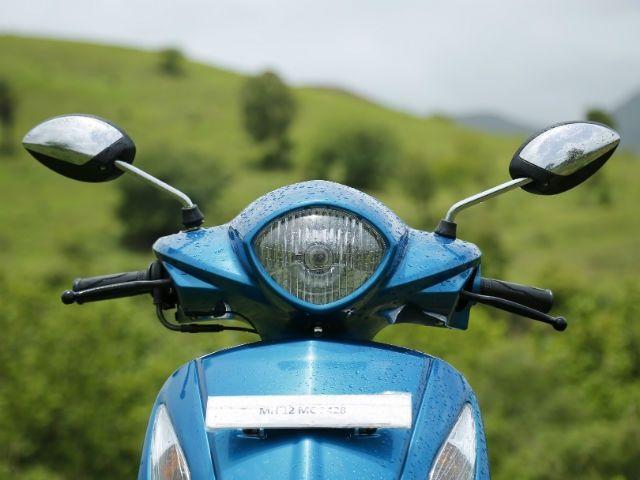 Yamaha Fascino - Styling and design