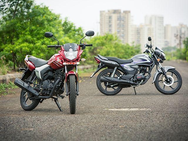 Yamaha Saluto vs Honda CB Shine