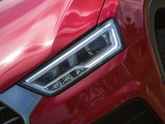 Audi Q3 facelift LED headlamp