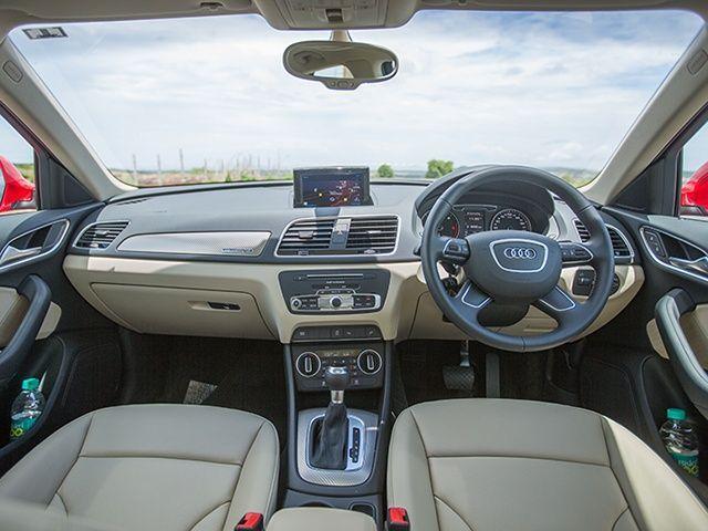 Audi Q TDI Quattro Interior Gallery ZigWheels - Audi car q3 price in india