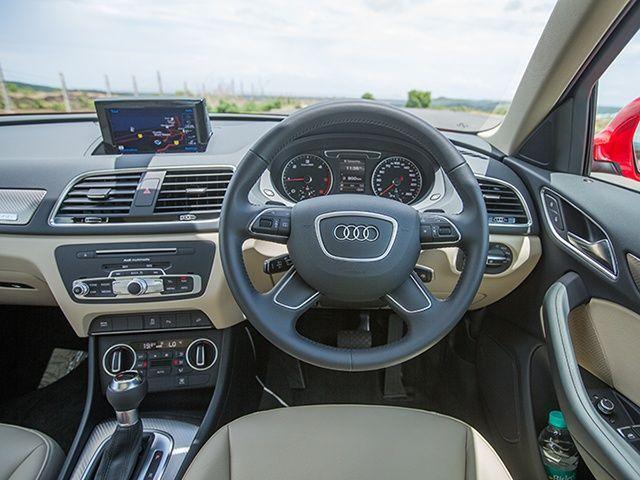 2015 Audi Q3 35 TDI Quattro Interior Gallery