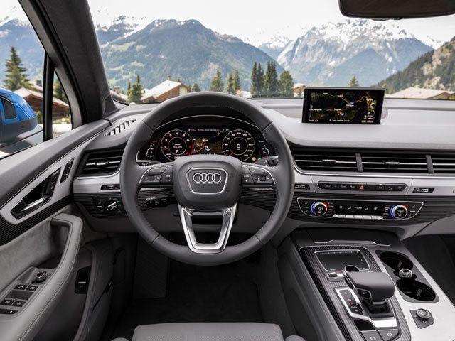 New 2016 Audi Q7: Interior Photo Gallery Review @ ZigWheels