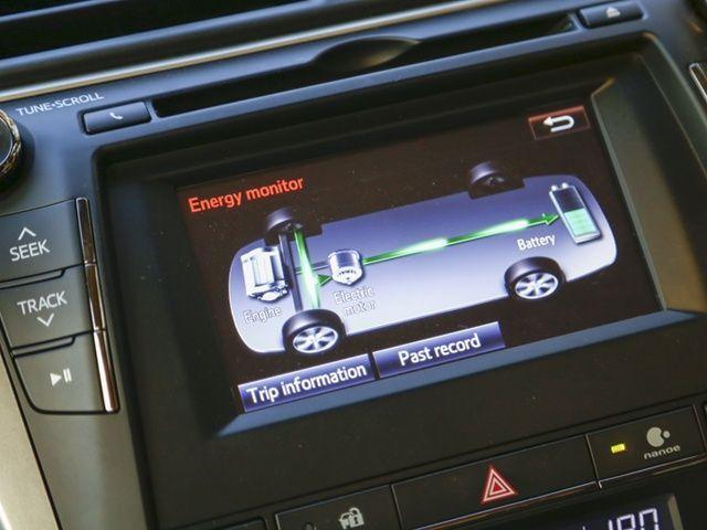 Toyota Camry Hybrid screen