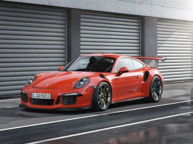 2016 Porsche 911 GT3 RS at the 2015 Geneva Motor Show: Photo Gallery