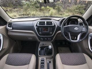 Mahindra TUV300 Interior Photo Gallery