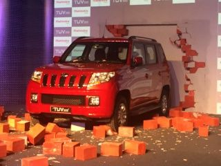 Mahindra TUV 300: Launch Photo Gallery