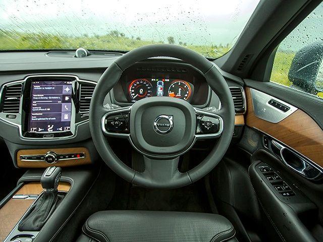 2015 Volvo XC90 Review Interior Gallery @ ZigWheels