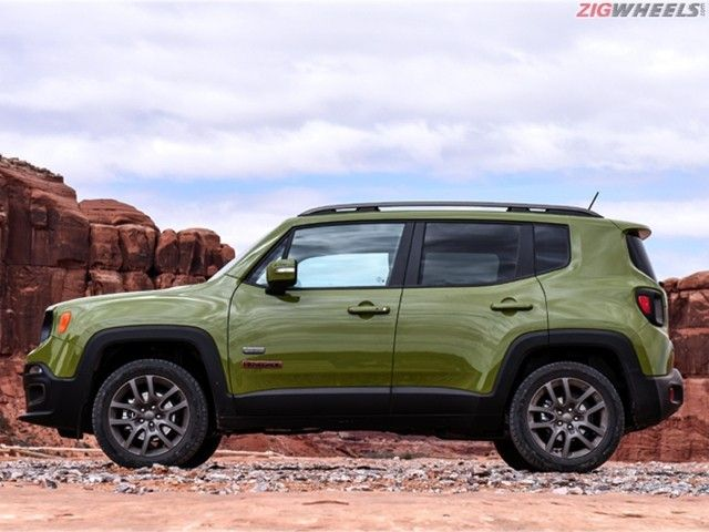 Jeep Renegade First Drive Review side