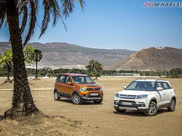 Maruti Suzuki Vitara Brezza vs Mahindra Nuvosport Comparison Review: Photo Gallery