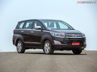 New Toyota Innova Crysta: Review Photo gallery