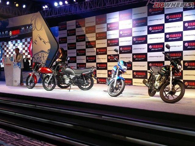 Yamaha Saluto RX: Launch Photo Gallery