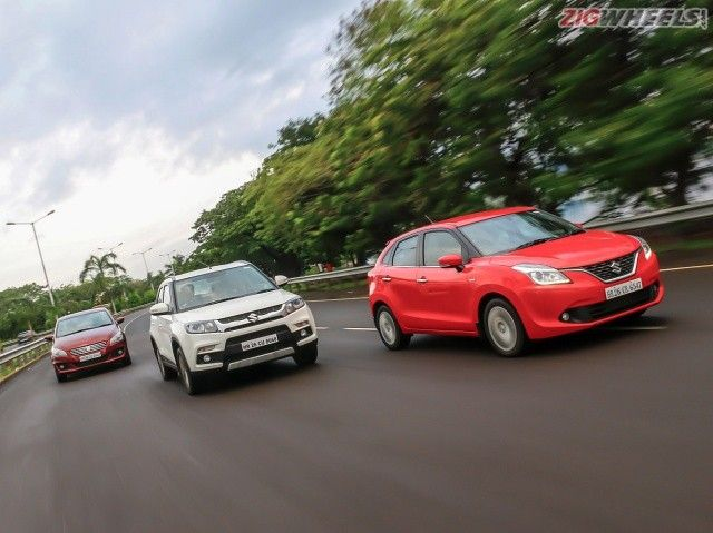 Baleno vs Brezza vs Ciaz: Comparison Photo Gallery