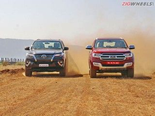 Ford Endeavour vs Toyota Fortuner: Comparison Review Photo Gallery