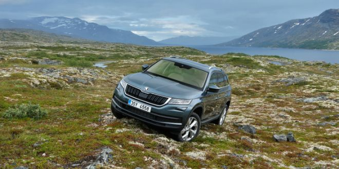 Skoda Kodiaq: First Drive Review Photo Gallery