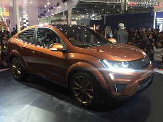 2016 Auto Expo: Mahindra XUV Aero Concept Photo Gallery