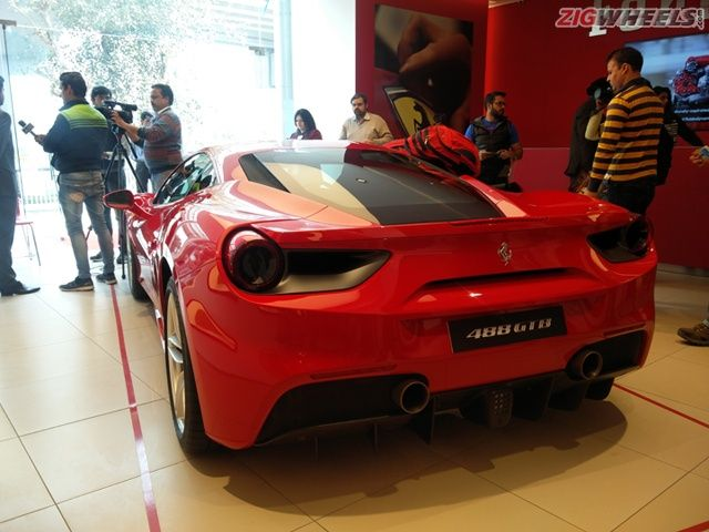 2016 Ferrari 488 GTB: Launch Photo Gallery