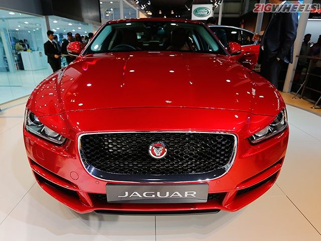 2016 Auto Expo: Jaguar XE Photo Gallery