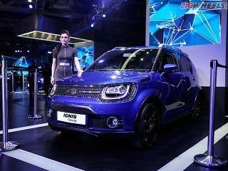 2016 Auto Expo: Maruti Suzuki Ignis Photo Gallery