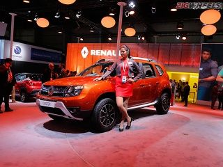 2016 Auto Expo: Renault Duster facelift Photo Gallery