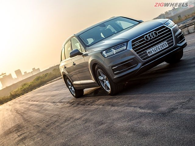 New Audi Q7 India Review Photo Gallery Zigwheels