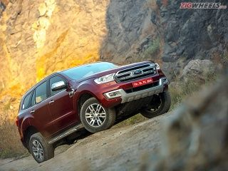 2016 Ford Endeavour Review Photo Gallery