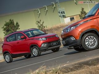 Mahindra KUV100 Review: Exterior Photo Gallery