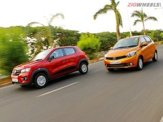 Renault Kwid vs Tata Tiago: Comparison Review: Photo Gallery