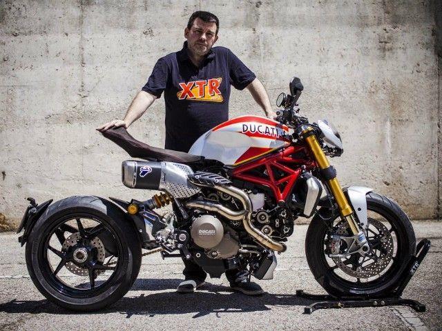 Custom Ducat... Ducati Monster In India