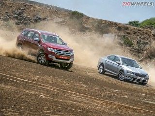 Skoda Superb vs Ford Endeavour: Comparison Review Photo Gallery