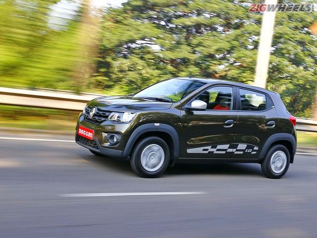 Renault Kwid AMT First Drive Review Photo Gallery