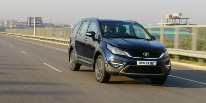 Tata Hexa: Review Photo Gallery