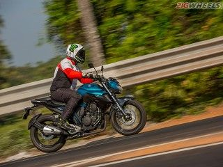 Yamaha FZ25: First Ride Review In Pictures
