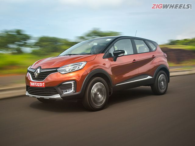 Renault Captur Price Images Mileage Colours Review In India