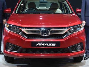 Auto Expo 2018: All-New Honda Amaze In Pictures