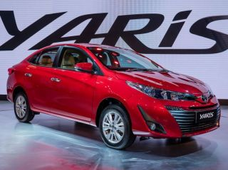 Auto Expo 2018: Toyota Yaris In Pictures