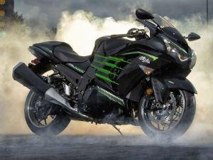 Kawasaki Ninja H2 Hybrid Drag Bike Zigwheels