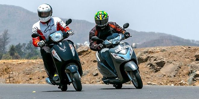 2016 Suzuki Access 125 vs Honda Activa 125