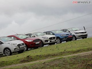 Dzire vs Xcent vs Tigor vs Aspire vs Ameo: Comparison Review