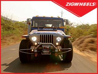 Mahindra Thar Wanderlust: 4x4 Adventure Monster Team ZigWheels