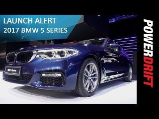 BMW 5 Series (2017) : Launch Alert : PowerDrift Team ZigWheels