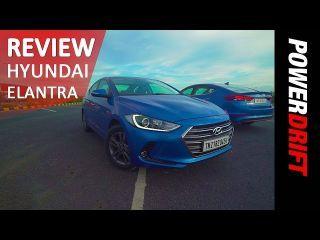 Hyundai Elantra : Review : PowerDrift Team ZigWheels