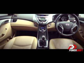 Hyundai Elantra Interior : PowerDrift
