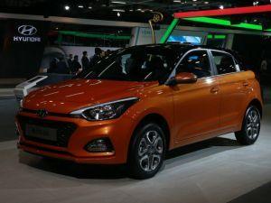 Hyundai Elite i20 Facelift At Auto Expo 2018