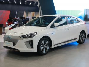 Hyundai Ioniq At Auto Expo 2018: First Look