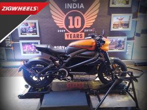Harley-Davidson LiveWire Walkaround Review   Price, Features, Specs & More    ZigWheels com